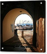 Doorway To The Sea Acrylic Print