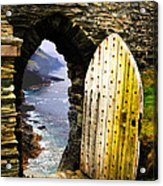 Doorway To The Sea Acrylic Print