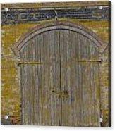 Doorway To The Service Dept. Acrylic Print