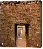 Doorways In Pueblo Bonito Acrylic Print