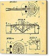 Dopyera Dobro Guitar Patent Art 1933 Acrylic Print