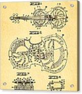 Dopyera Resophonic Violin Patent Art 1939 Acrylic Print