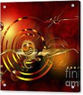 Dore Dans Le Universe Acrylic Print