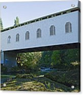 Dorena Covered Bridge 2 Acrylic Print