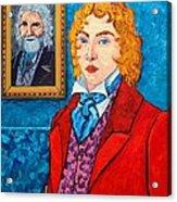 Dorian Gray Acrylic Print