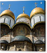 Dormition Cathedral - Square Acrylic Print