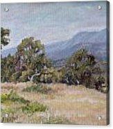 Dos Pueblos Canyon Acrylic Print