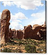 Double Arch In The Windows District Acrylic Print