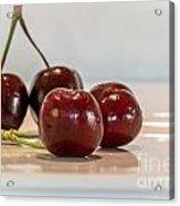 Double Cherry Acrylic Print