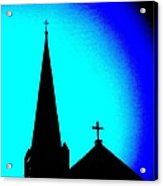 Double Crosses Acrylic Print
