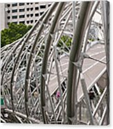 Double Helix Bridge 01 Acrylic Print