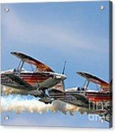 Double Iron Eagles Acrylic Print