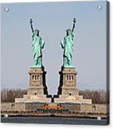 Double Libertys Acrylic Print