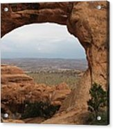 Double O Arch - Arches Np Acrylic Print