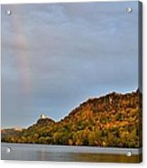 Double Rainbow Acrylic Print