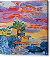 Candy Coated Monterey Sunset Acrylic Print