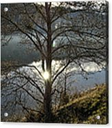 Double Sun Acrylic Print