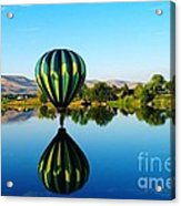Double Touchdown  Acrylic Print by Jeff Swan