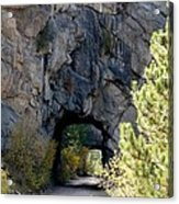 Double Tunnel - Eleven Mile Canyon Acrylic Print