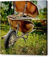 Double Wheelbarrow Acrylic Print