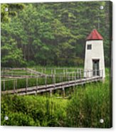 Doubling Point Range Lights Acrylic Print