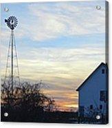 Dougherty Barn Panorama Acrylic Print