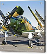 Douglas Ad-5 Skyraider Attack Aircraft Acrylic Print