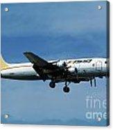 Douglas Dc-6bf  Landing  N95bl Apa Acrylic Print
