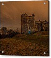 Doune Castle At Night Acrylic Print
