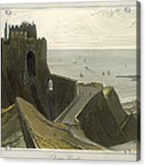 Dover Castle, From A Voyage Around Acrylic Print