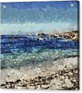 Down By The Sea 1 Acrylic Print