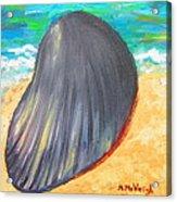 Down By The Seashore Acrylic Print