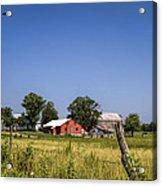 Down Home Amish Farm Acrylic Print