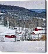 Down In The Valley Acrylic Print
