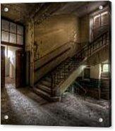 Down Stairs Ward Acrylic Print