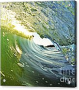 Down The Barrel Acrylic Print by Paul Topp