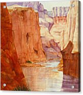 Down The Canyon - Day Two Acrylic Print