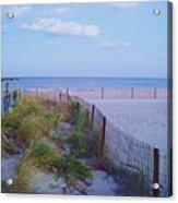 Down The Shore At Belmar Nj Acrylic Print
