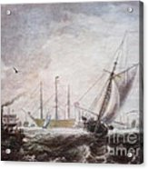 Down To The Sea In Ships Acrylic Print