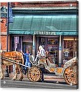 Down Town Nashville Acrylic Print