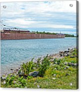 Downbound At Mission Point 3 Acrylic Print