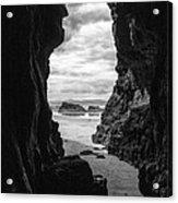 Downhill Cave Acrylic Print