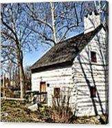 Downingtown Log House 1701 Acrylic Print