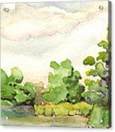 Downriver Napanee Acrylic Print