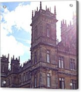 Downton Abbey In A Ray Of Sunlight Acrylic Print