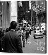 Downtown 1978 Acrylic Print by Bob Stone