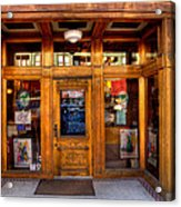 Downtown Athletic Club - Prescott Arizona Acrylic Print