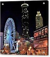 Downtown Atlanta Acrylic Print