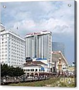 Downtown Atlantic City New Jersey Acrylic Print