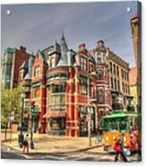 Downtown Boston. Acrylic Print